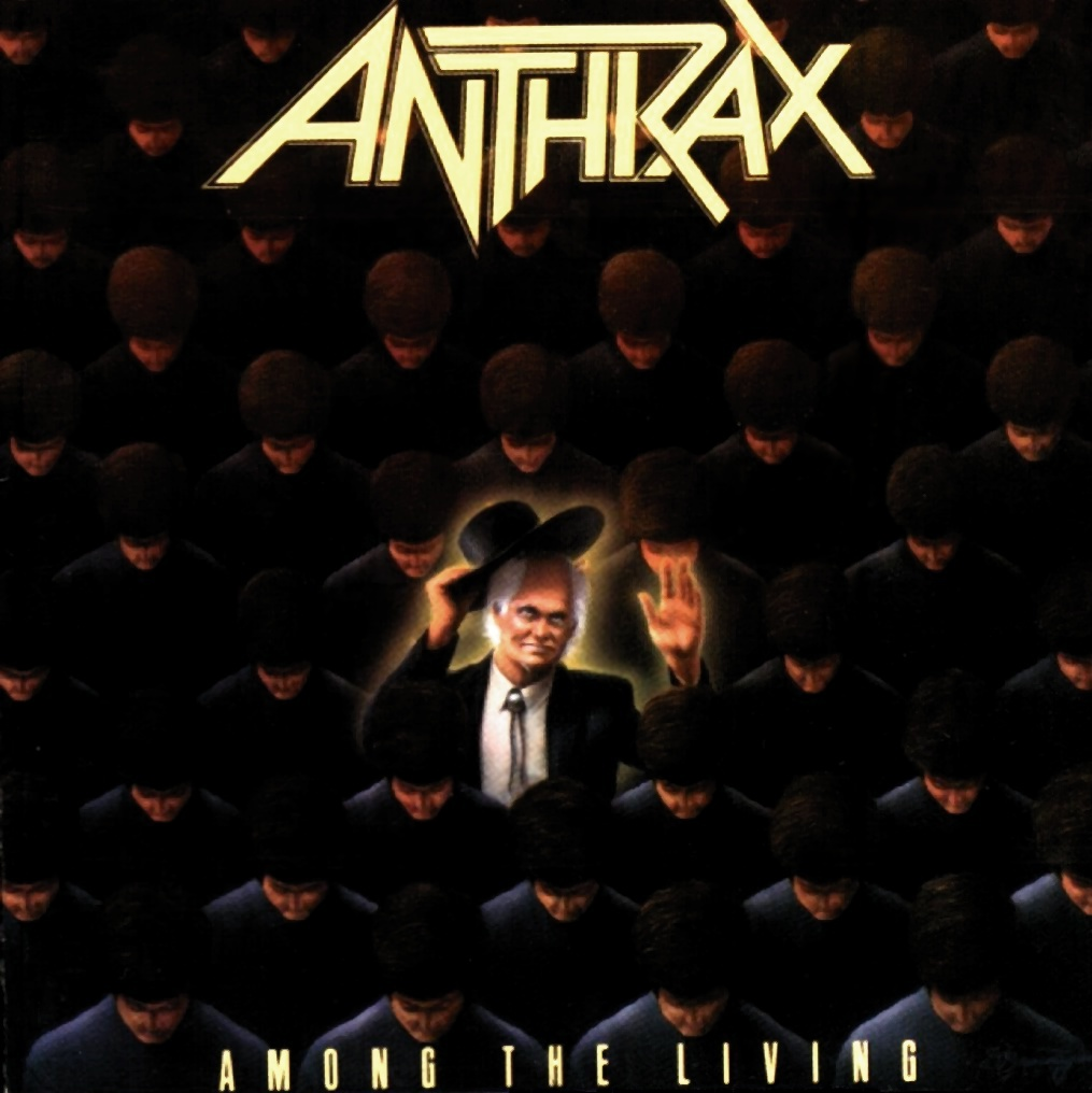 Anthrax – Among the Living | Shiny Shiny Cufflinks Most Epic Picture Ever Taken